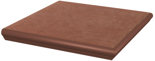 Ступень Угловая с капиносом Натурал КОТТО 33х33х1,1см PARADYZ CERAMIKA в Калининграде