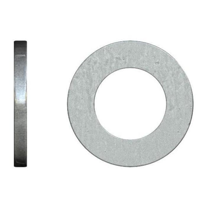 Шайбы плоские DIN 125  10.0