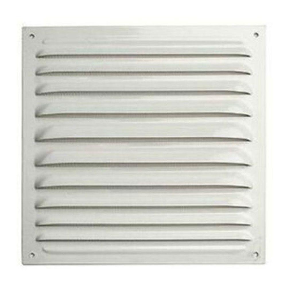 Решетка вентиляционная 150х150мм металлическая белая в Калининграде