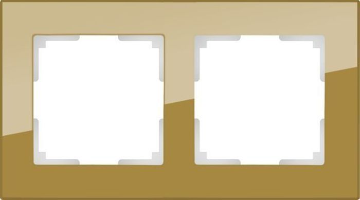 Рамка 2-я FAVORIT стекло бронза WERKEL WL01-Frame-02 в Калининграде