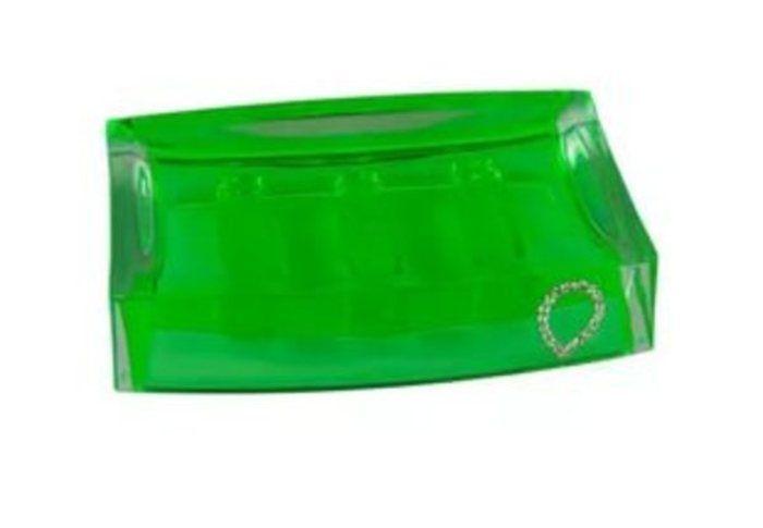 Мыльница настольная Green Cristal (A9165 W) в Калининграде