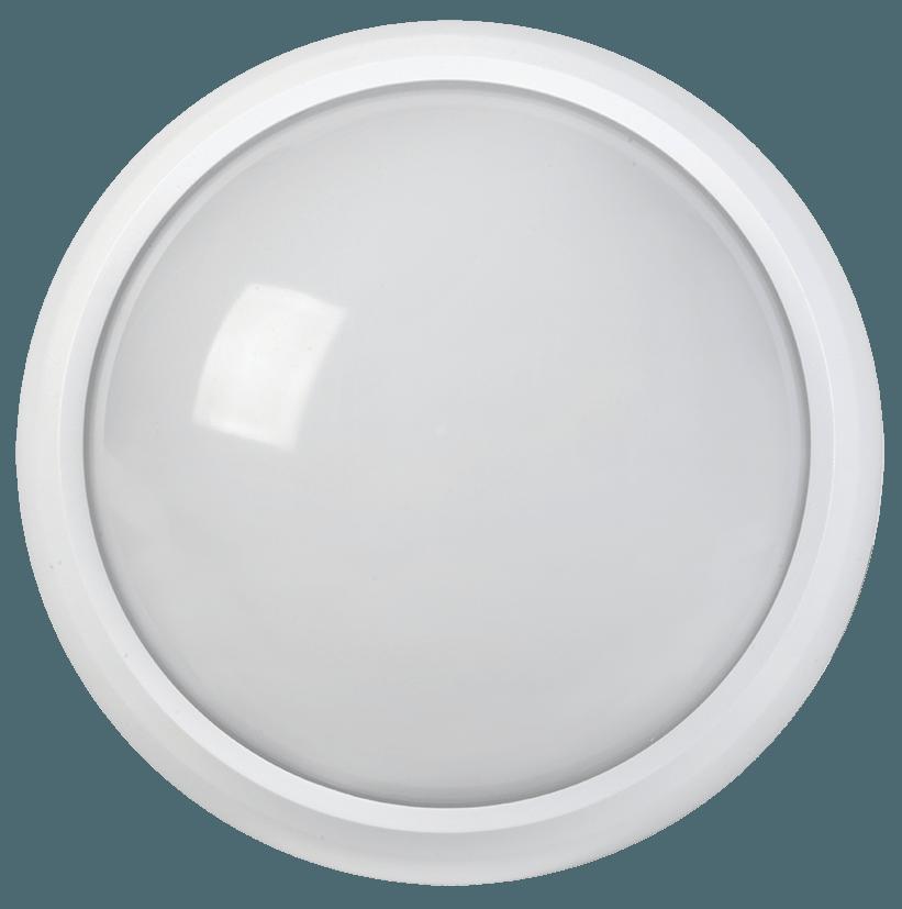 Светильник светодиодный ДПО 3030/5030 12Вт 4000K IP54/65 круг белый пластик ИЭК в Калининграде