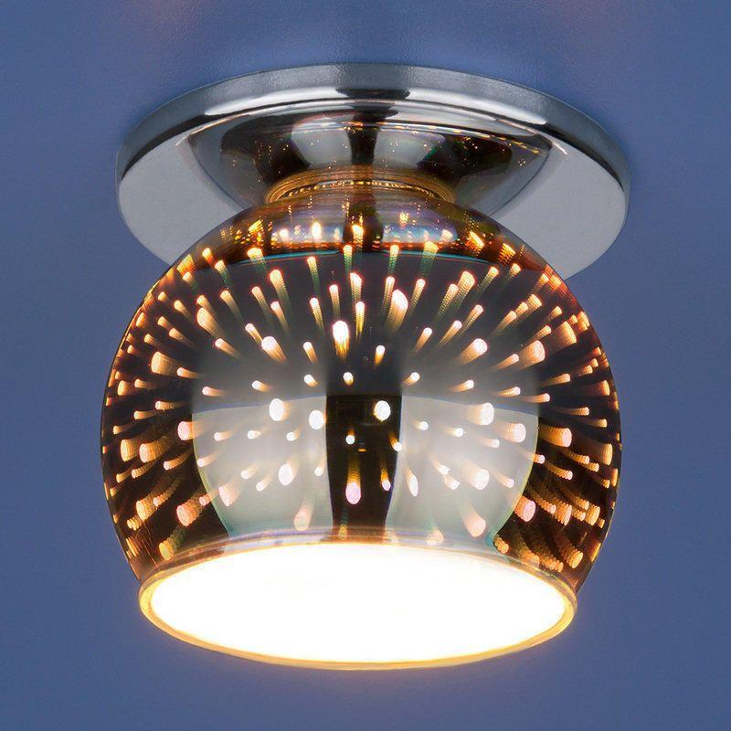 Светильник 1103 G9 SL зеркальный 3D эффект ELEKTROSTANDART в Калининграде