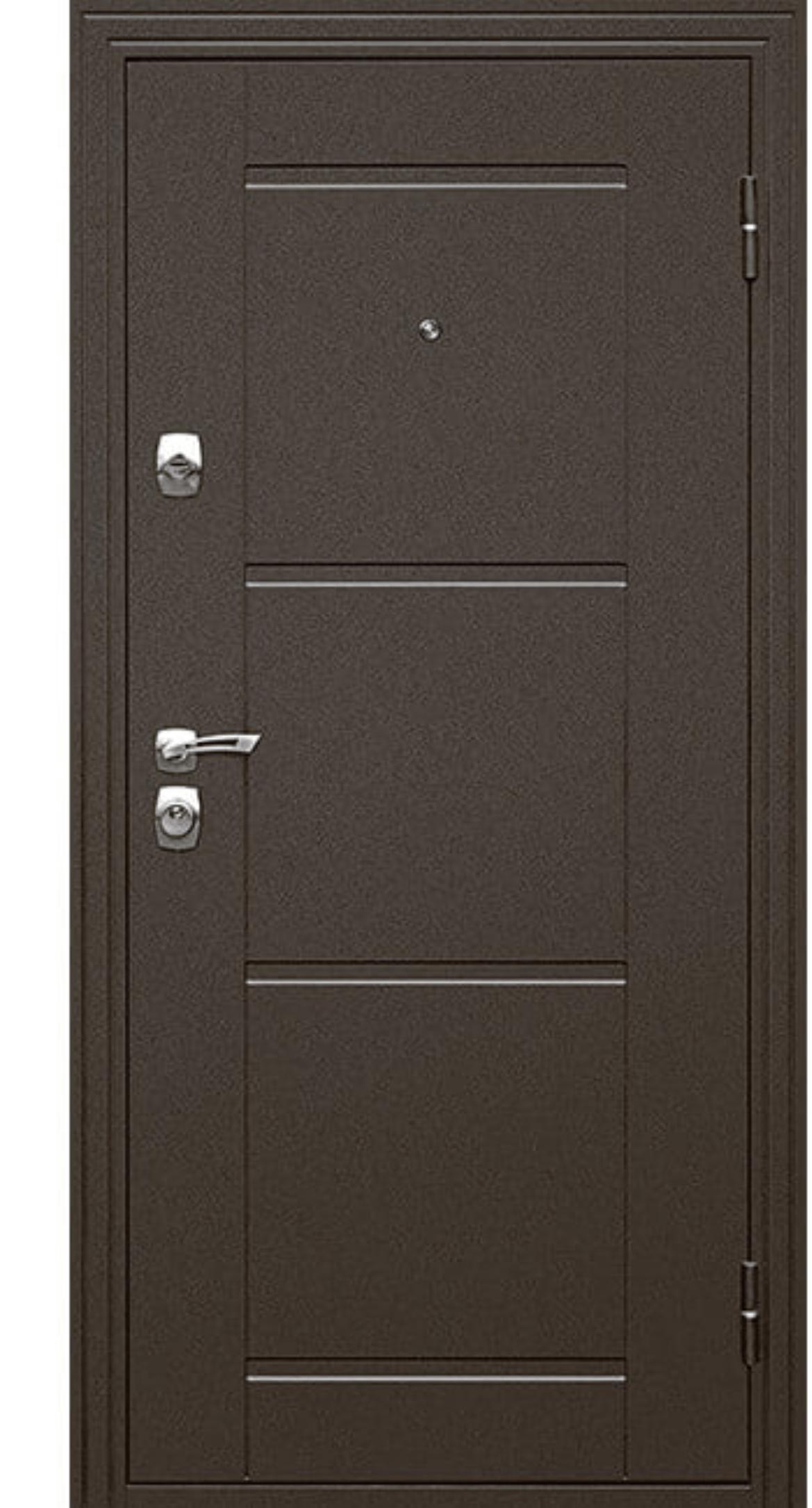 Дверь входная металлическая Эстет, 960 мм, правая, цвет дуб беленый в Калининграде