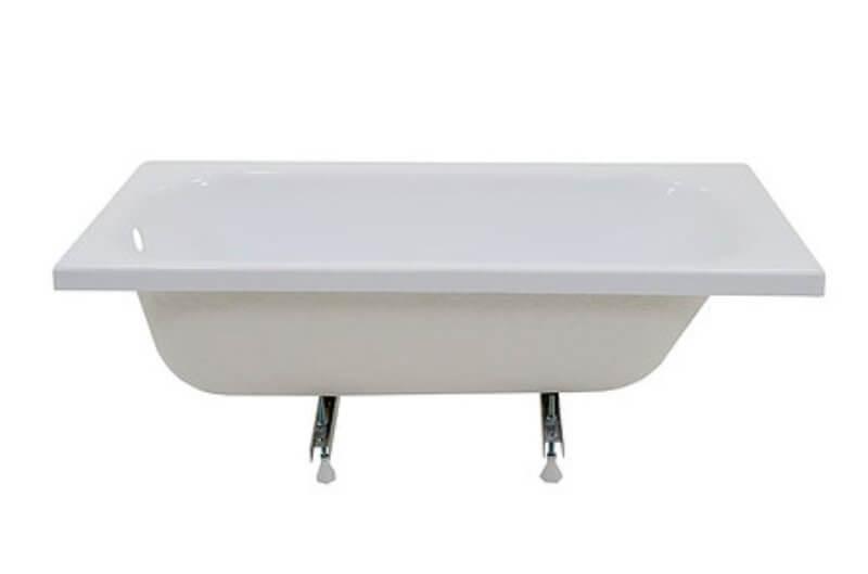 Ванна акриловая 160х70см УЛЬТРА прямая, толщина листа 3,2мм, (без ножек). Тритон в Калининграде