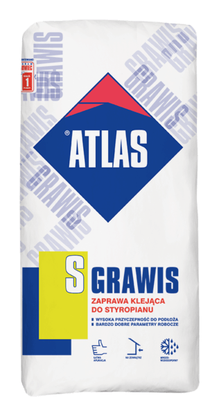 Клей для пенополистирола Atlas Grawis S 25 кг