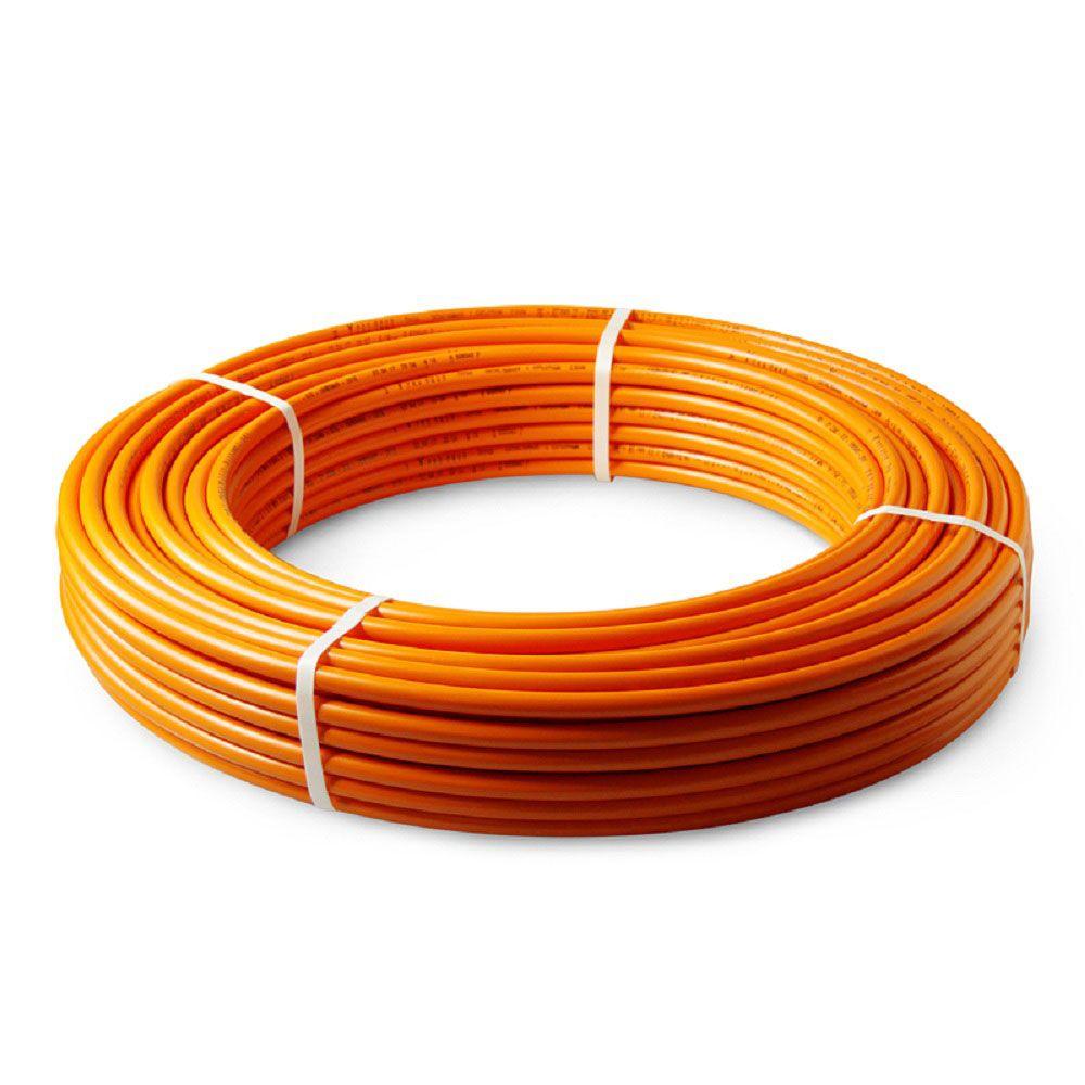 Труба д/теплого пола 16мм PE-RT/EVOH/PE-RT оранжевая (бухта 200м). PRO AQUA в Калининграде