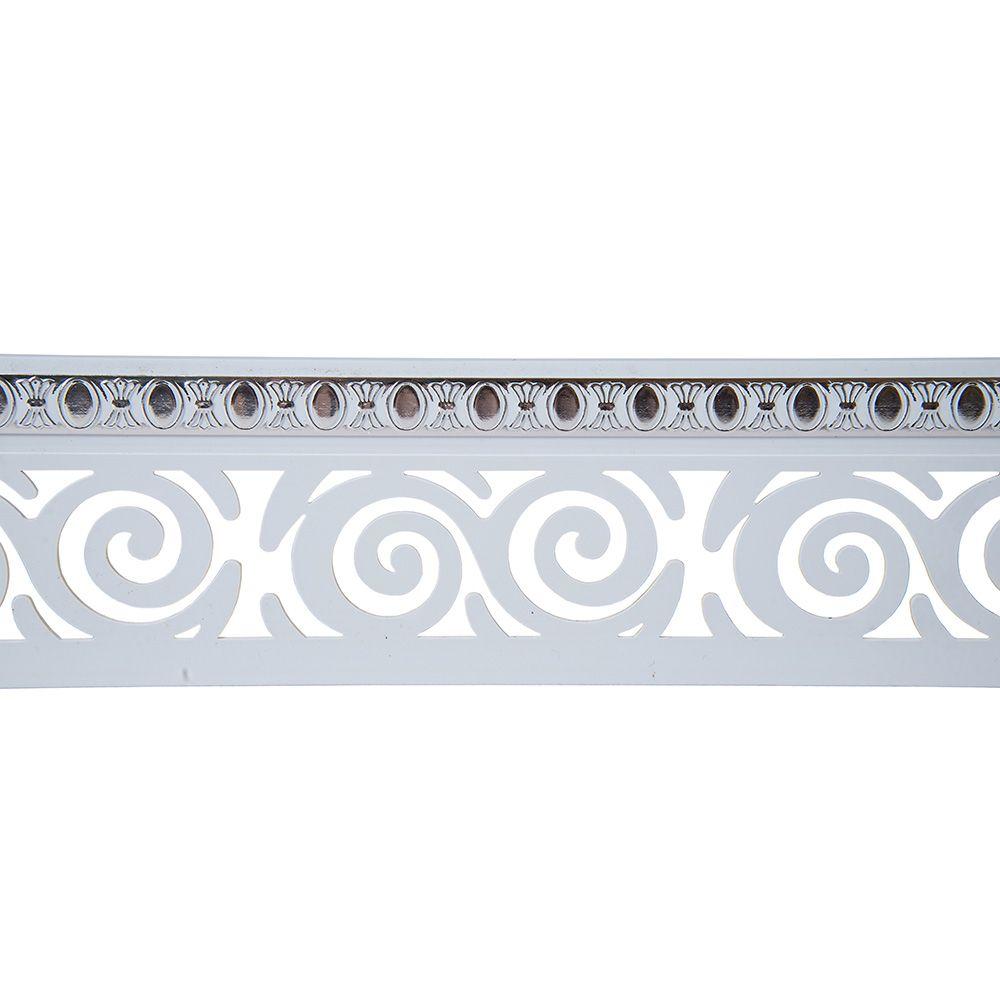 Карниз с планкой 7х300см Белое Серебро Завиток Магелан в Калининграде