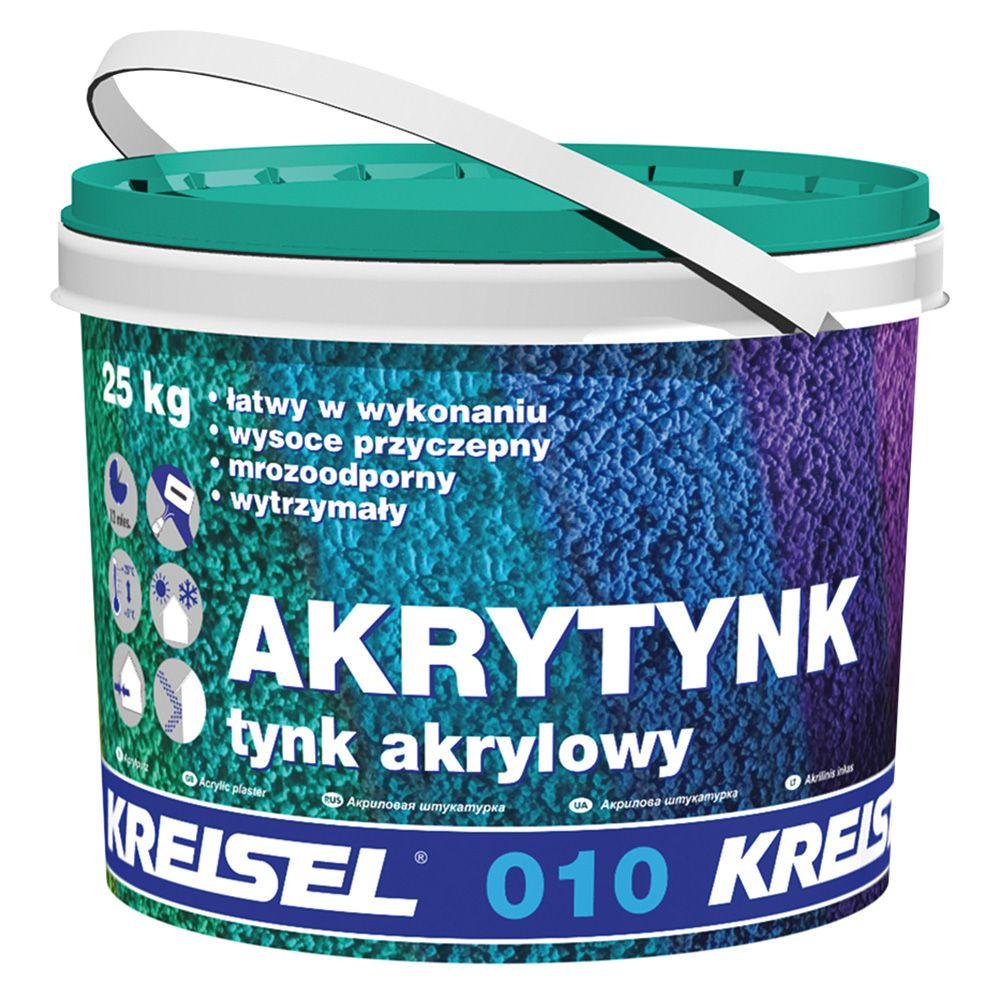 Штукатурка акриловая KREISEL 010 DR2,0 короед (База A) 25кг (33) в Калининграде