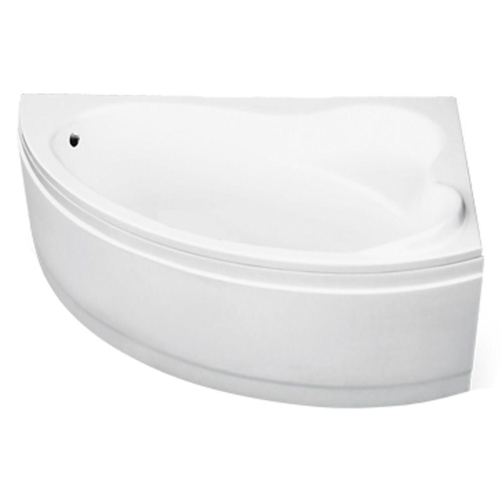 Ванна акриловая 160х100см, правая, с ножками, толщина листа 4мм (242л, глубина 46,5см), Ada. Besco в Калининграде