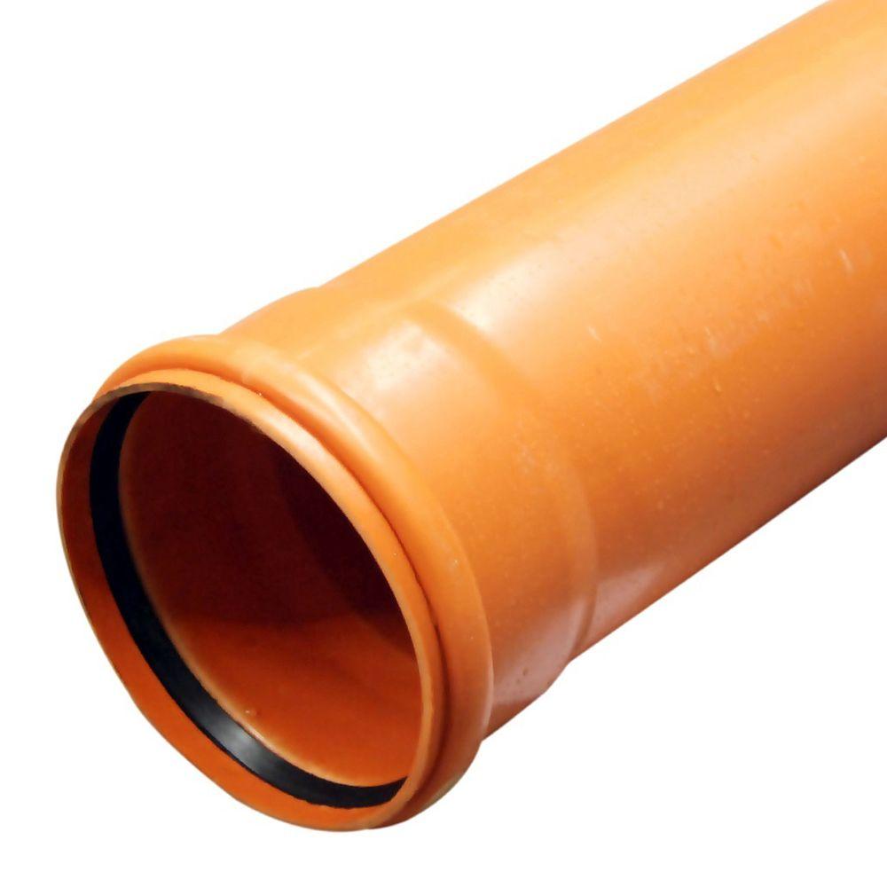 Труба канализационная ПВХ 200х5,9х3000мм SN8 наружная, MAGNAPLAST в Калининграде