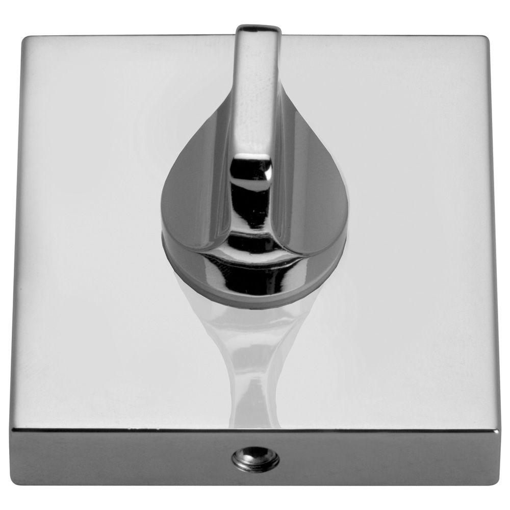 Накладки дверные WC квадрат 26-WC-04 хром GAMET комплект в Калининграде