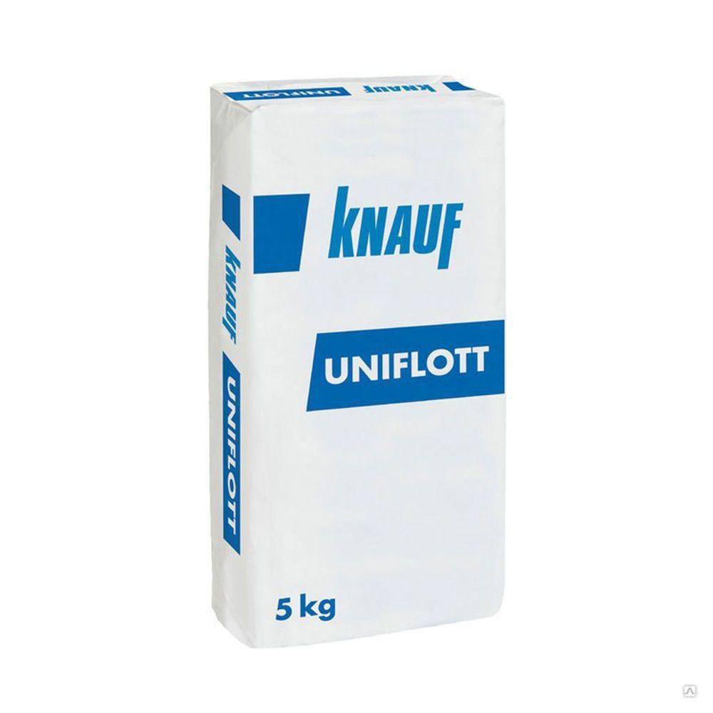 Шпаклевка гипсовая высокопрочная KNAUF UNIFLOTT 5 кг в Калининграде