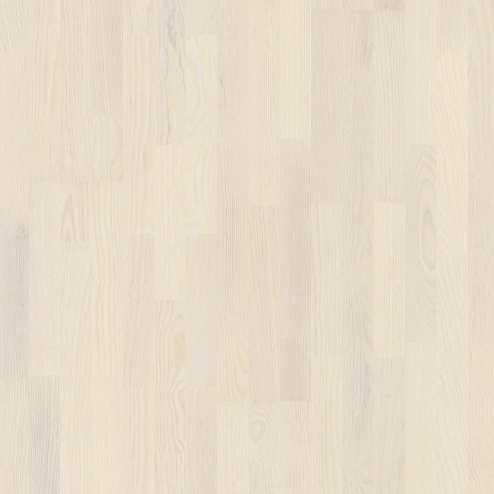 Доска паркетная Ясень Reggae белый 13х215х2200мм, 3-strip, мат.лак.ASHL82TD в Калининграде