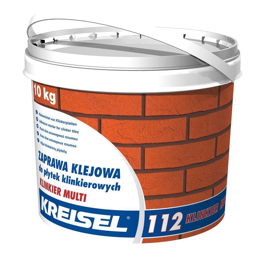Клей для клинкерной плитки KREISEL 112 10кг в Калининграде