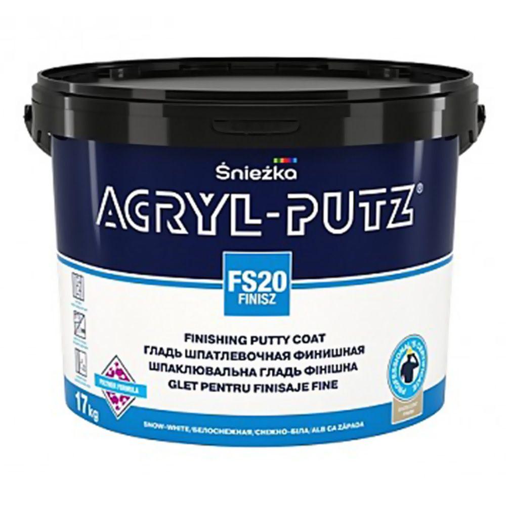 Шпаклевка готовая полимерная ACRYL-PUTZ FS20 FINISZ 17кг в Калининграде