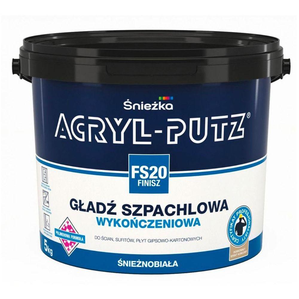 Шпаклевка готовая полимерная ACRYL-PUTZ FS20 FINISZ 5кг в Калининграде