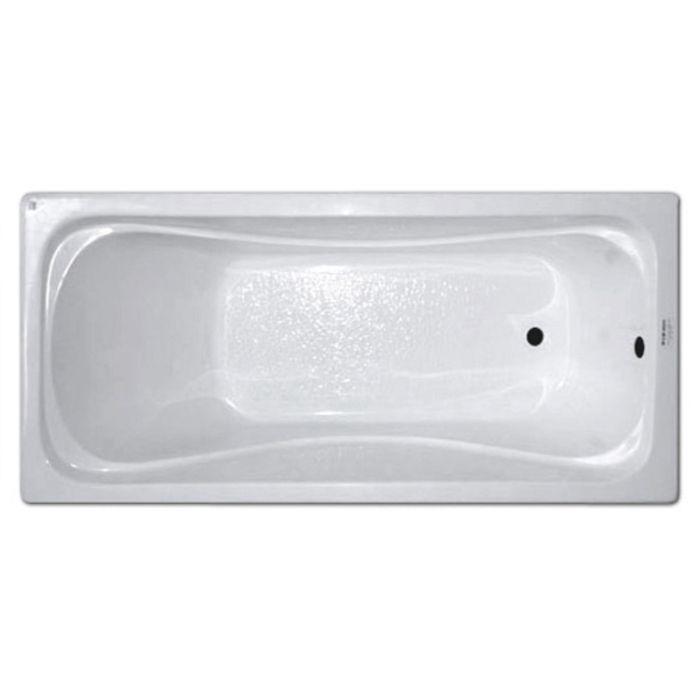 Ванна акриловая 140х70см Стандарт прямая (170л), толщина листа 4мм. Тритон (без ножек) в Калининграде