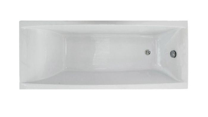 Ванна акриловая 170х70см Джена прямая, толщина листа 5мм. Тритон (без ножек) в Калининграде