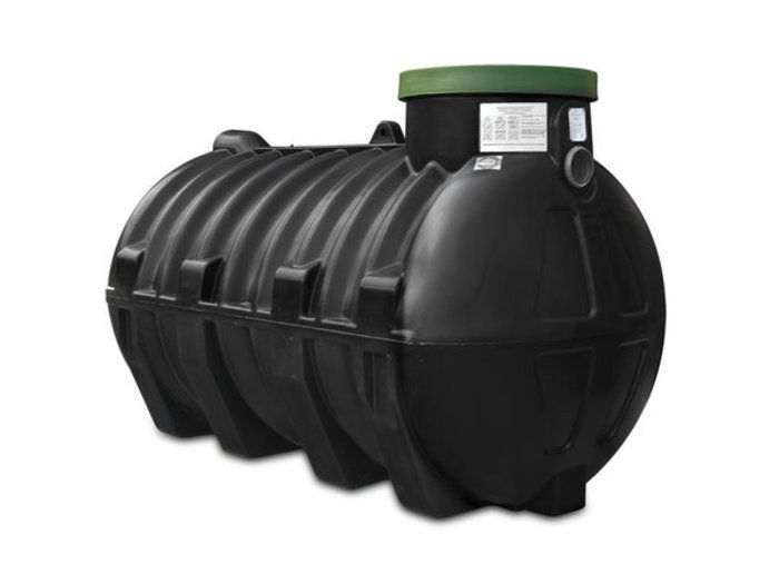 Резервуар 2 м/3 (комплект - бочка, крышка, корзина, керамзит) для системы сточных вод и канализации ПВХ (Септик) в Калининграде