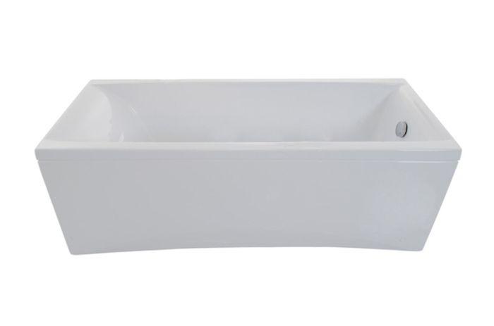 Ванна акриловая 160х70см Джена прямая Тритон (без ножек) в Калининграде