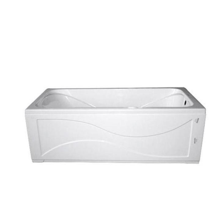 Ванна акриловая 160х70см Стандарт прямая (220л), толщина листа 4мм. Тритон (без ножек) в Калининграде
