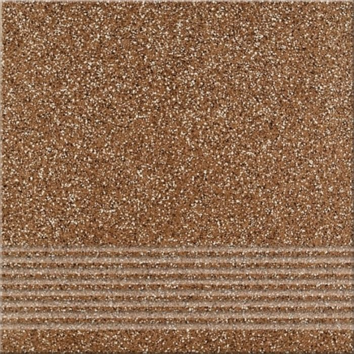 Ступень Грес Милтон (Тартан) коричневый 29,7х29,7см в Калининграде
