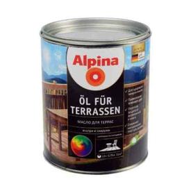 Масло терраcное Oel Fur Terrasen бесцветное 0,75 л Alpina в Калининграде