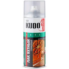 Лак яхтный аэрозоль глянцевый KUDO
