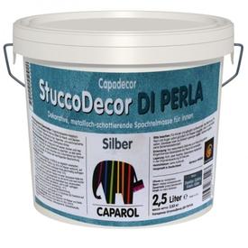 Шпатлевка декоративная Stucco-Decor DI Perla Silber 2,5 л Caparol