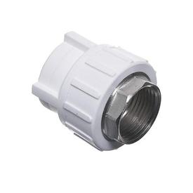Муфта ППР белая 1 (ВР)х32 мм РосТурПласт