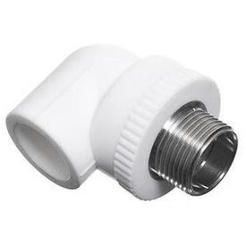Колено ППР белое 1 (НР)х32 мм РосТурПласт