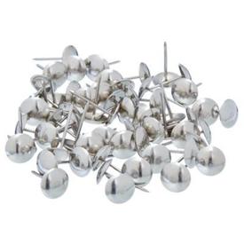 Гвозди декоративные (обивочные) 1.6х20 мм с широкой шляпкой хром упаковка 90 шт в Калининграде