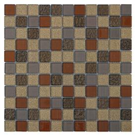 Мозаика д/стен Chocolate стеклянная 29,5x29,5 в Калининграде