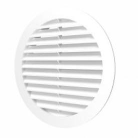 Решетка вентиляционная 160мм/200мм круглая пластиковая в Калининграде