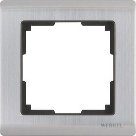 Рамка 1-я METALLIC никель WERKEL WL02-Frame-01 в Калининграде