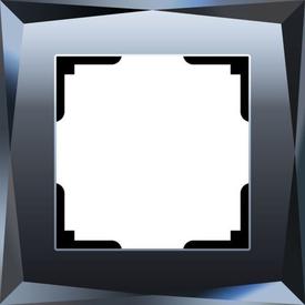 Рамка 1-я DIAMANT стекло черный граненый WERKEL WL08-Frame-01 в Калининграде