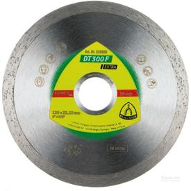 Диск алмазный отрезной сплошной d=180х1.6x22мм DT300F по плитке EXTRA KLINGSPOR в Калининграде