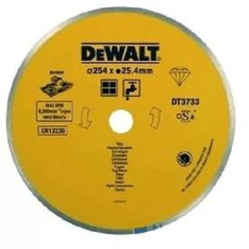 Диск алмазный отрезной сплошной d=254*25,4 для плиткореза по плитке DEWALT в Калининграде