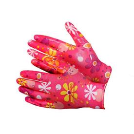 Перчатки х/б женские с нитриловым покрытием разноцветные 472 в Калининграде