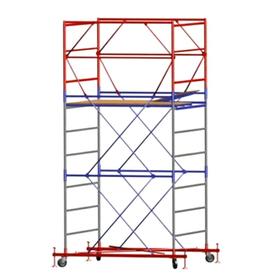 Вышка-тура ВСП-250/1,2х2,0 высота раб. площадки 9.9 м Рабочая высота 11,9м (8 секций+баз.блок+стабилизаторы комплект 4шт) в Калининграде