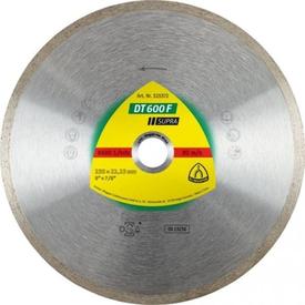 Диск алмазный отрезной сплошной d=125х1.6x22мм DT600F по плитке SUPRA KLINGSPOR в Калининграде