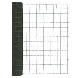 Сетка рулонная 1,8х25м с ПВХ покрытием 2,1мм зеленая ячея 100х50мм в Калининграде