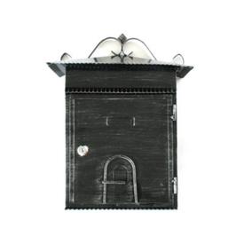 Ящик почтовый домик 250*413 мм старое серебро в Калининграде