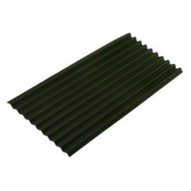 Лист битумный волнистый зеленый 0,95х1,95м ОНДУЛИН в Калининграде