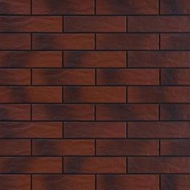 Плитка фасадная Бургунд Рустик с Оттенком 24,5х6,5х0,65см CERRAD в Калининграде