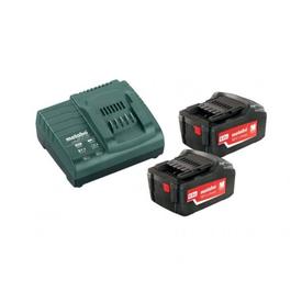 Набор 2 аккумулятора METABO 4,0А 18V Li-Power Extreme+Зарядное устройство ASC 30-36V в Калининграде