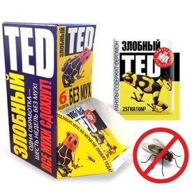 """Средство от мух """"Злобный Тэд"""" гранулы 25г (30) в Калининграде"""