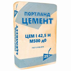 Цемент портланд ЦЕМ I 42,5Н Россия ДР 25кг в Калининграде