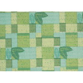 Коврик ПВХ 65см зеленные квадратики RW544А (15) в Калининграде